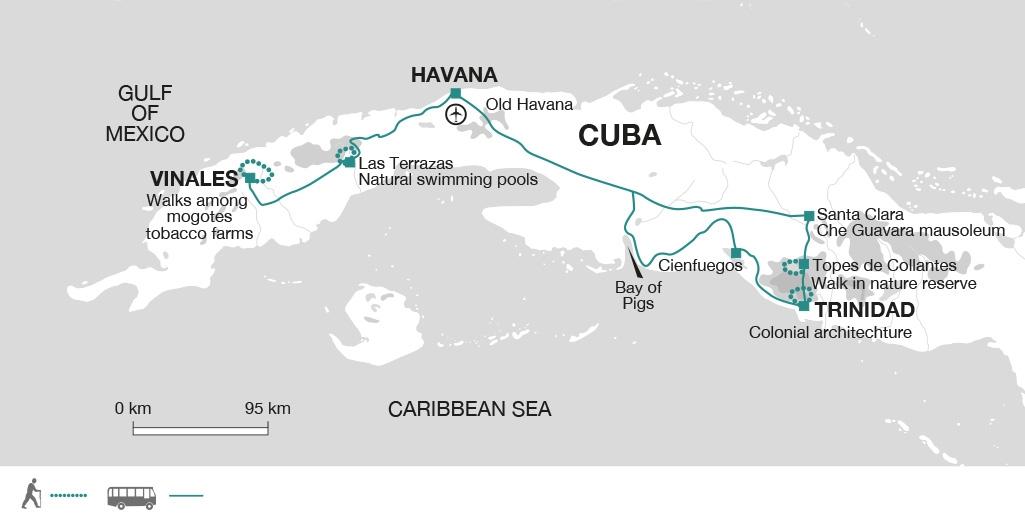 Cuba Highlights On Foot Intertravel