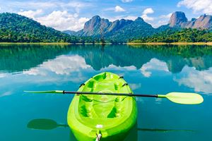 Green-Kayak-on-Quiet-Lake-Khao-Sok-,-Thailand.jpg